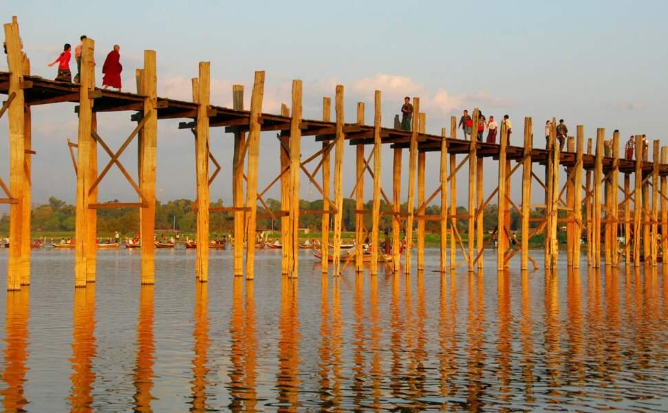Pont U-Bein, Amarapura