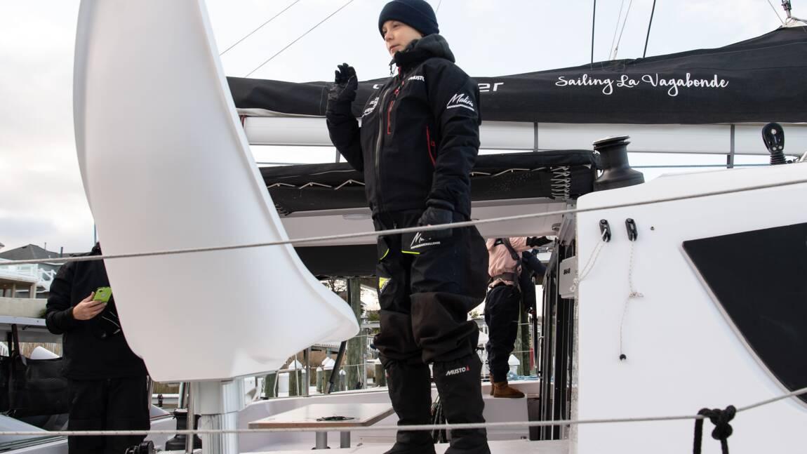 Greta Thunberg a quitté les Etats-Unis en catamaran, direction l'Europe