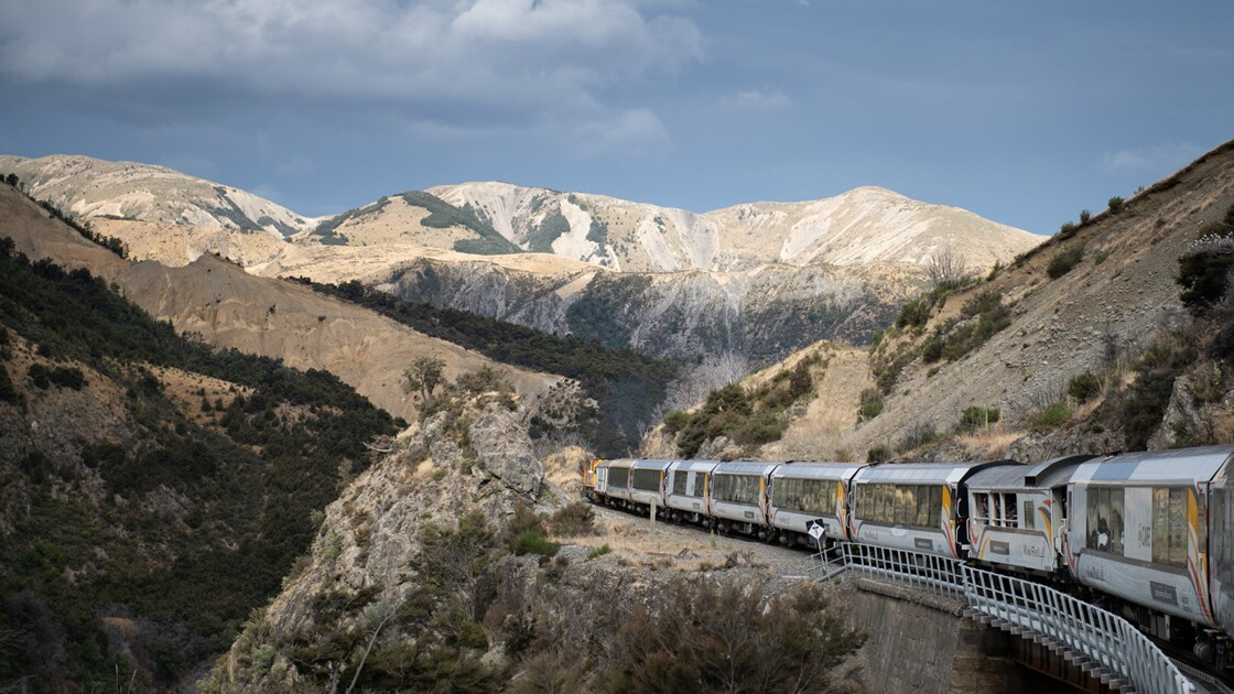 Un train pour le Far West en Nouvelle-Zélande : on a pris la ligne TranzAlpine