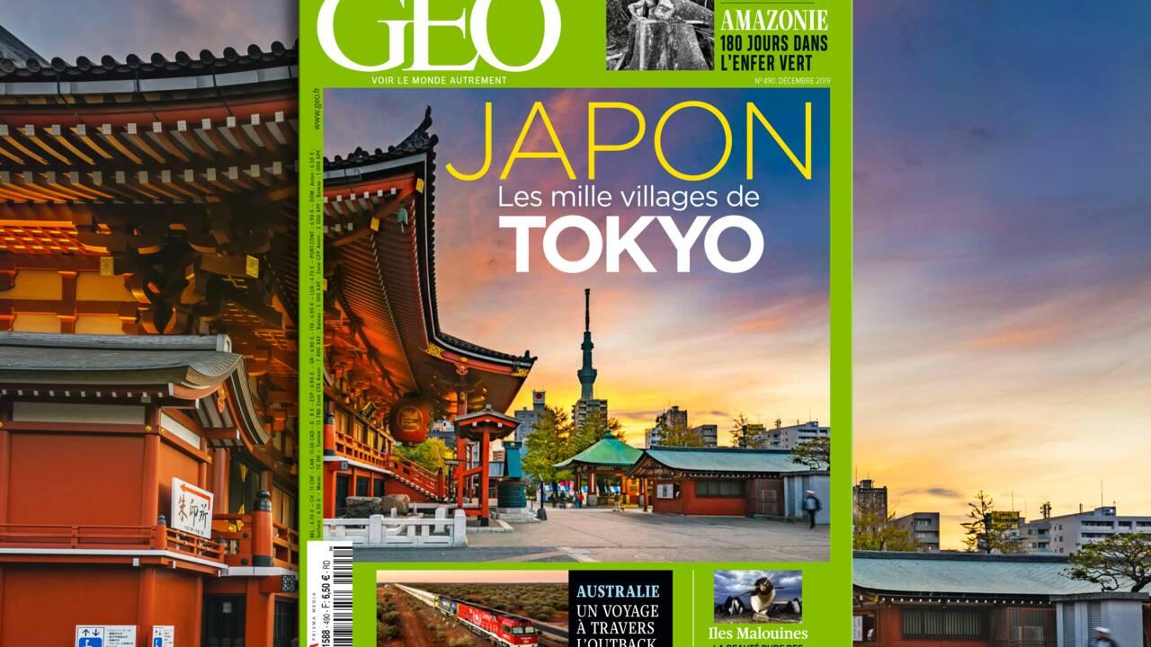 Tokyo et ses mille villages au sommaire du nouveau numéro de GEO