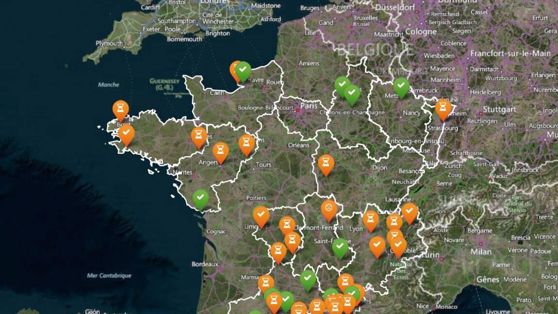 Une carte collaborative recense les dégradations et initiatives favorables à l'environnement