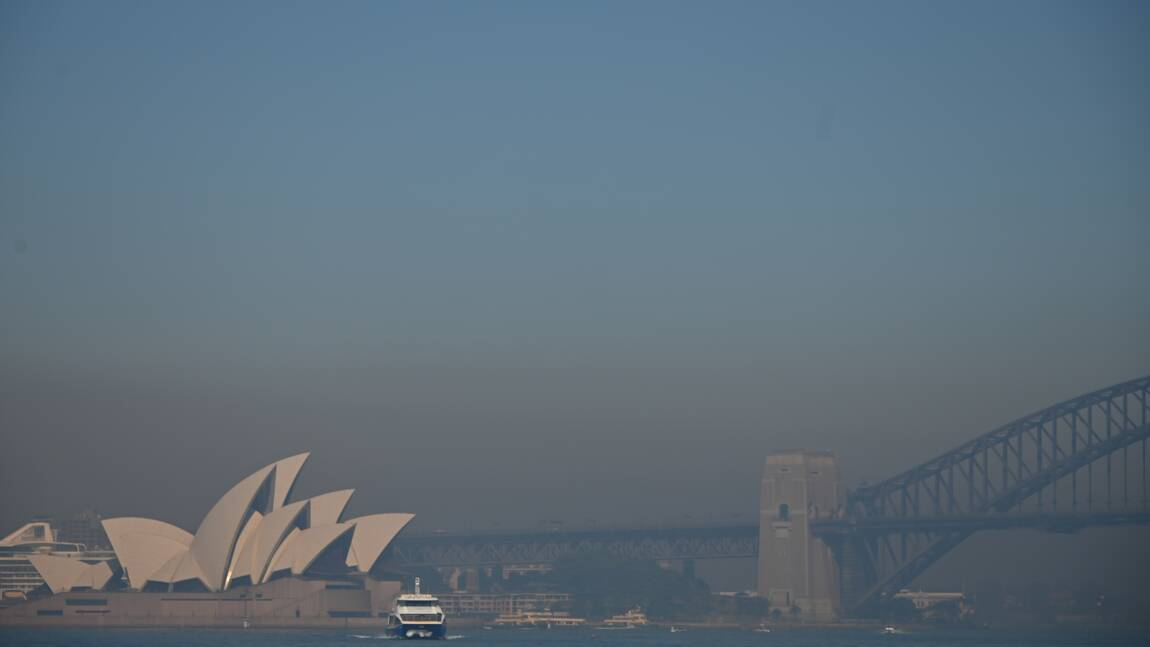 Incendies en Australie: Sydney enveloppée dans un brouillard toxique