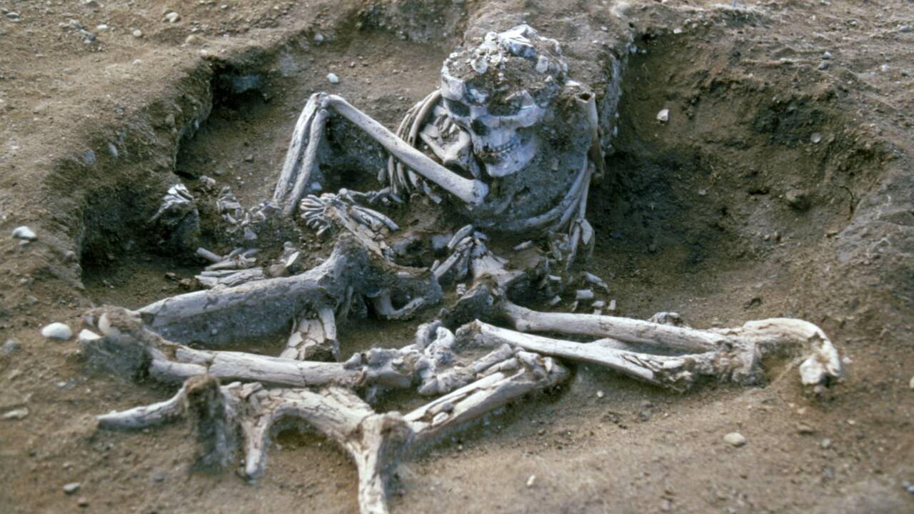 """Des archéologues """"redonnent vie"""" à une chasseuse-cueilleuse morte il y a 7000 ans en Suède"""