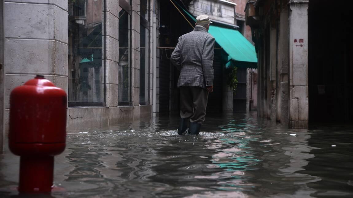 Venise sort la tête de l'eau après des inondations historiques