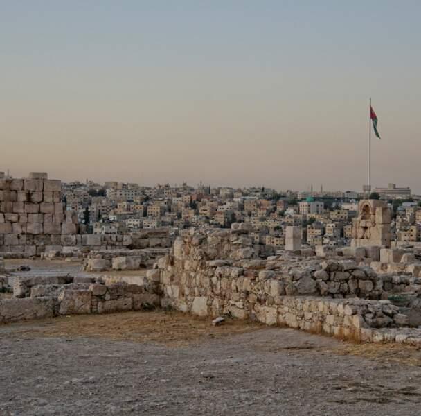 Amman : au sommet de la colline de Jabal al-Qal'a se dresse la citadelle
