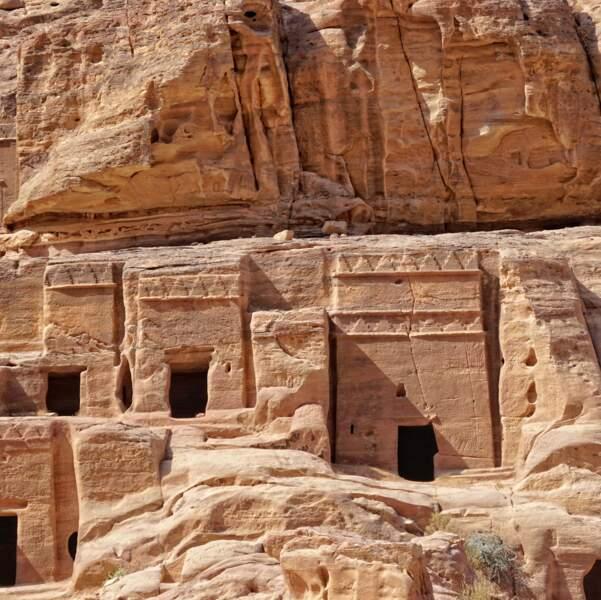 Le célèbre site archéologique Pétra