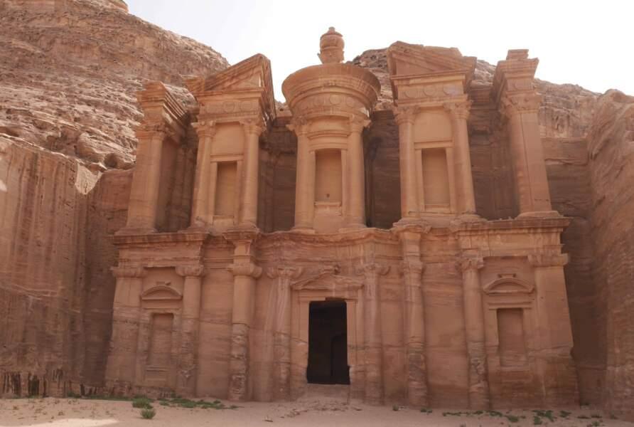 Le Monastère, le plus imposant de tous les monuments de la cité antique de Pétra