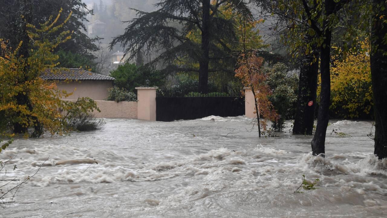 Fortes inondations sur la Côte d'Azur: deux disparus et au moins deux blessés, levée de l'alerte rouge