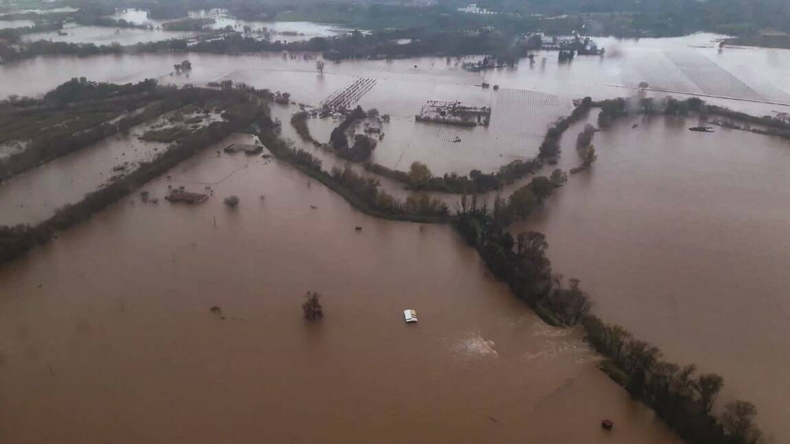 Inondations: la décrue se poursuit dans le Sud-Est, l'alerte orange levée dans le Var
