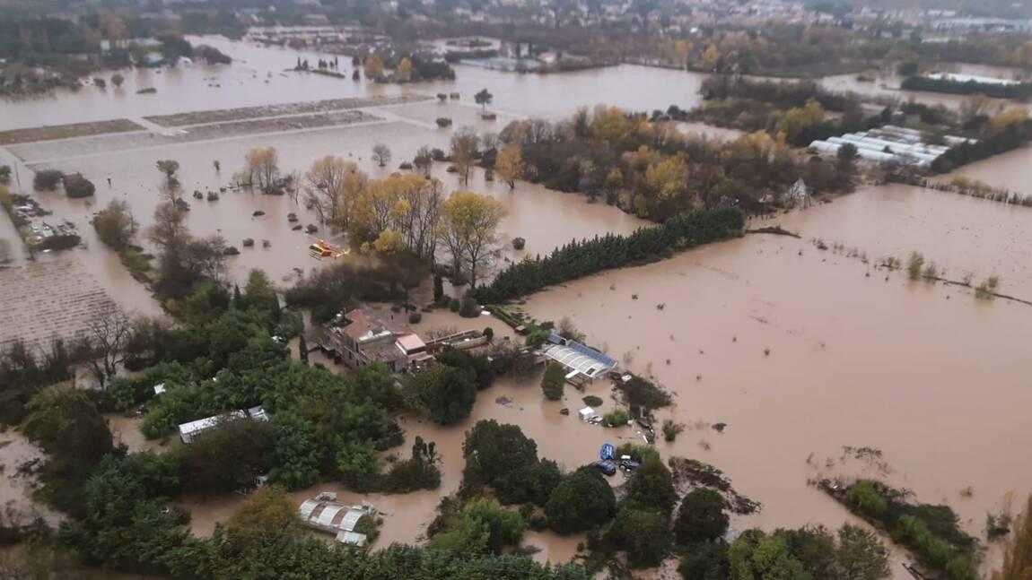 Intempéries: quatre morts sur la Côte d'Azur