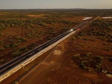 Virée à bord du train de l'outback australien