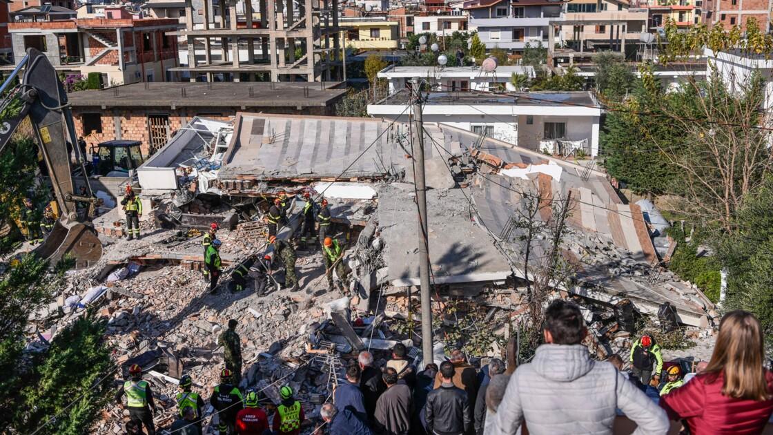 Séisme : l'Albanie en deuil recherche désespérément des survivants