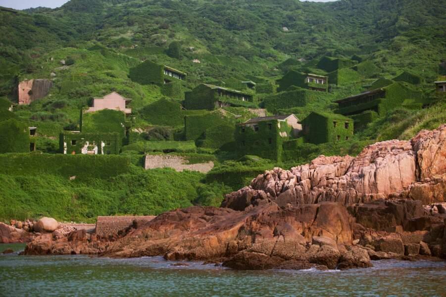 Houtouwan, l'ancien village de pêcheurs en Chine
