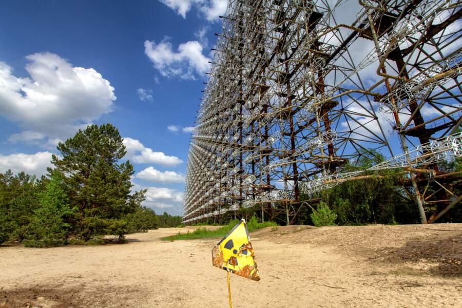 Le radar muet Duga-1 en Ukraine