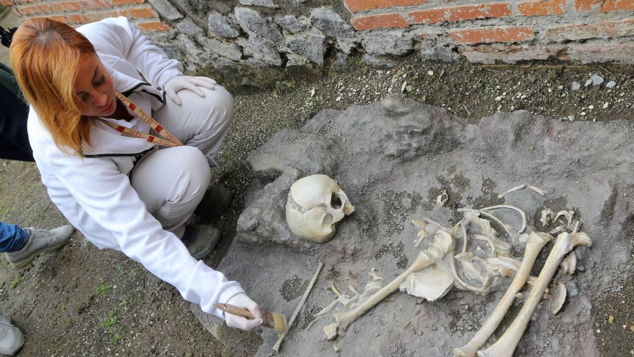 A Pompéi, les ruines de thermes romains vieux de 2000 ans s'ouvrent au public
