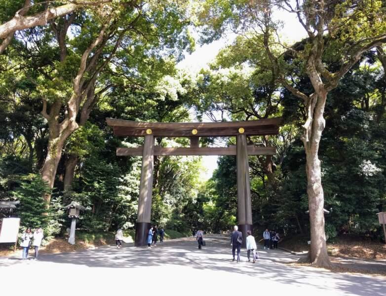 Le tori ou torii, le traditionnel portail japonais
