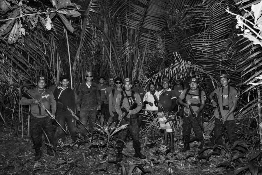 """Avec les """"gardiens de la forêt"""""""