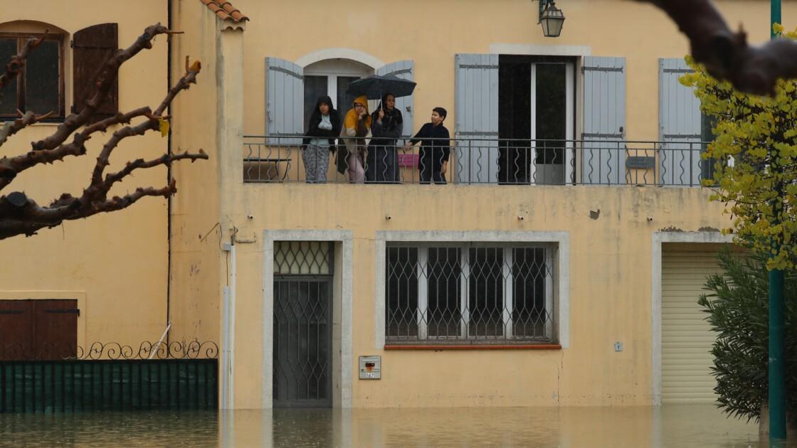 Intempéries: le Var et les Alpes-Maritimes passent en alerte rouge