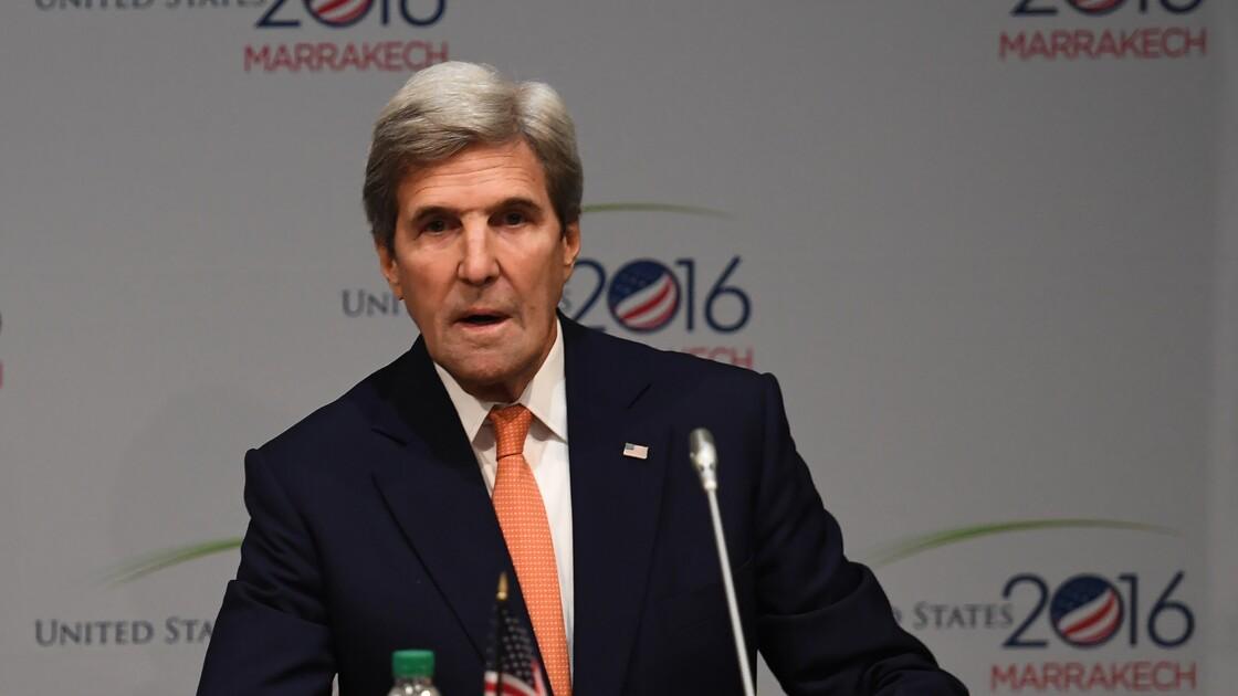 """John Kerry lance une coalition pour faire la """"guerre"""" au changement climatique"""