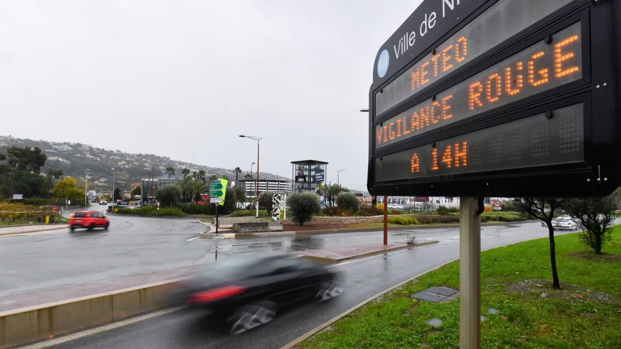 Intempéries: une personne portée disparue dans le Var