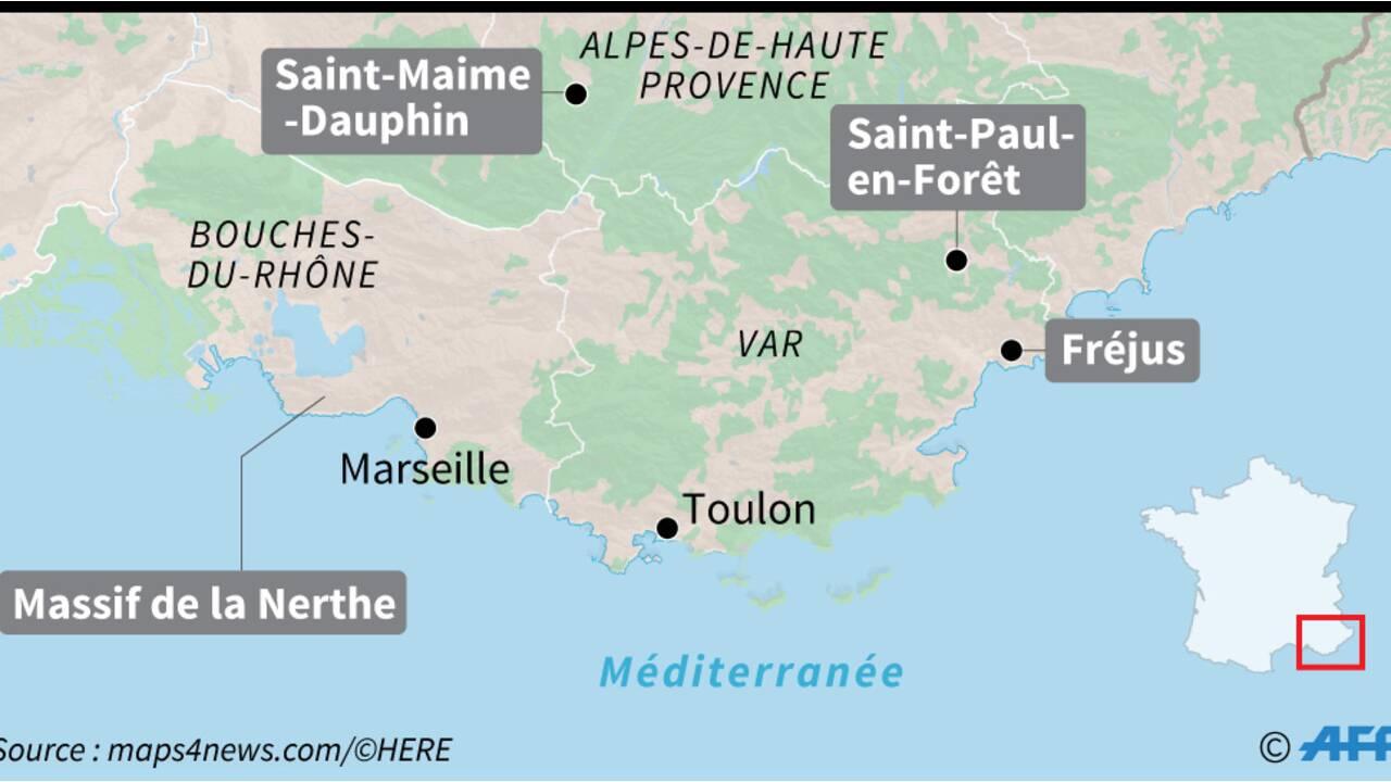 Au moins six morts et un éboulement dans de nouvelles intempéries dans le Sud-Est