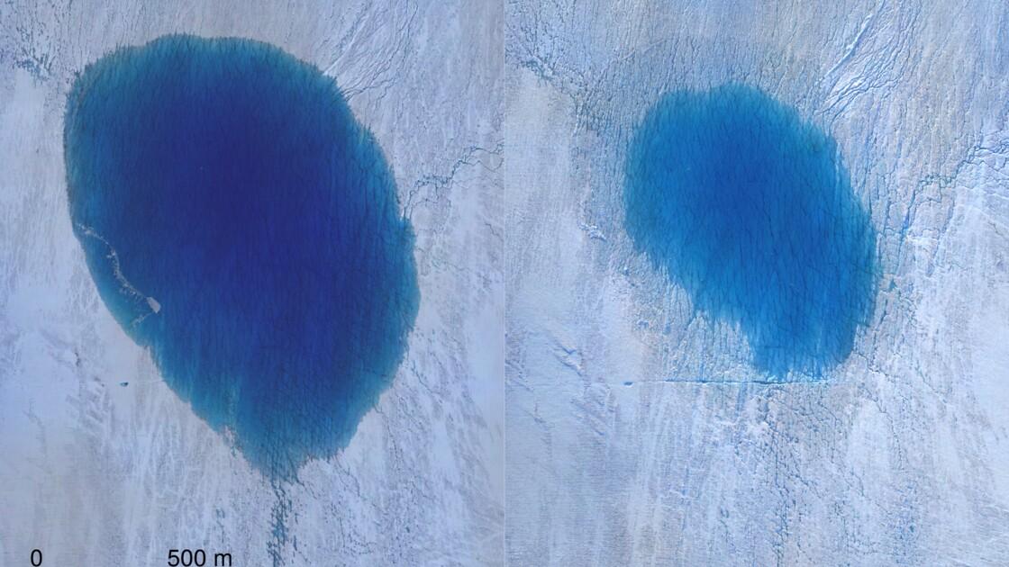 Au Groenland, ces lacs qui se vident en quelques heures