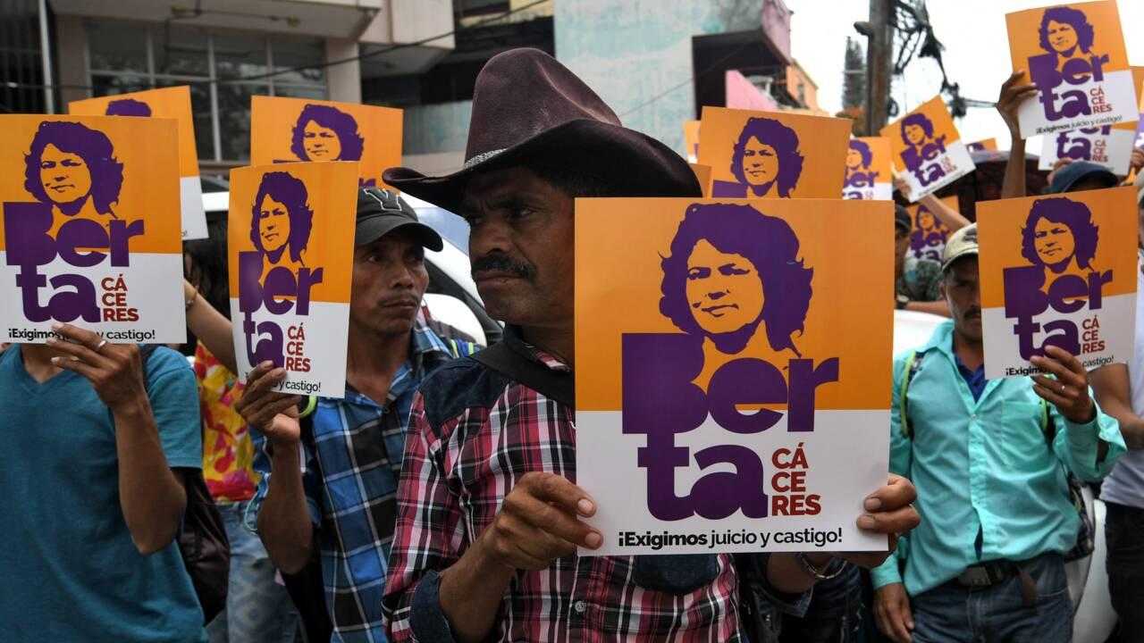 Au Honduras, 30 à 50 ans de prison pour l'assassinat de l'écologiste Berta Cáceres