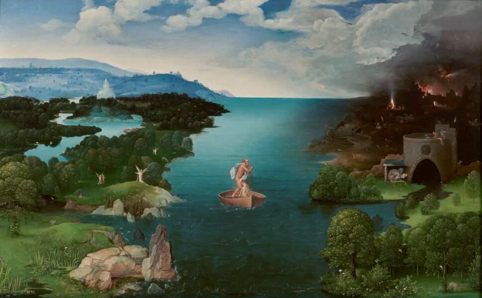 Traversée du Styx, par Joachim Patinier