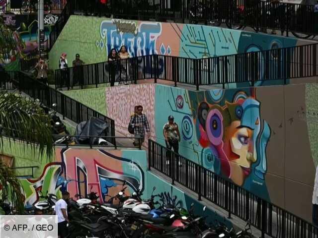 Colombie : le tourisme, nouvelle arme de Medellin contre la violence