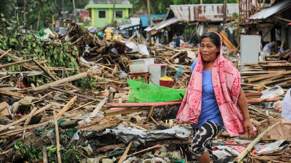 Philippines: 13 morts lors du passage du  typhon Kammuri