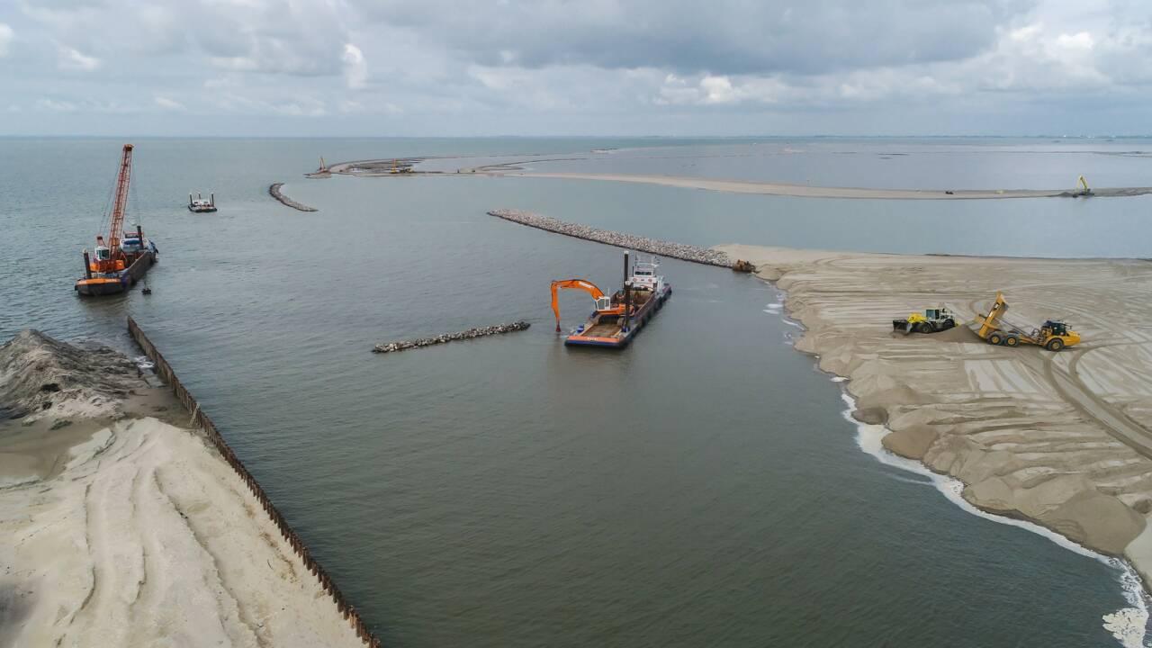 Le sable, nouvel allié des Pays-Bas dans leur combat contre la montée des eaux