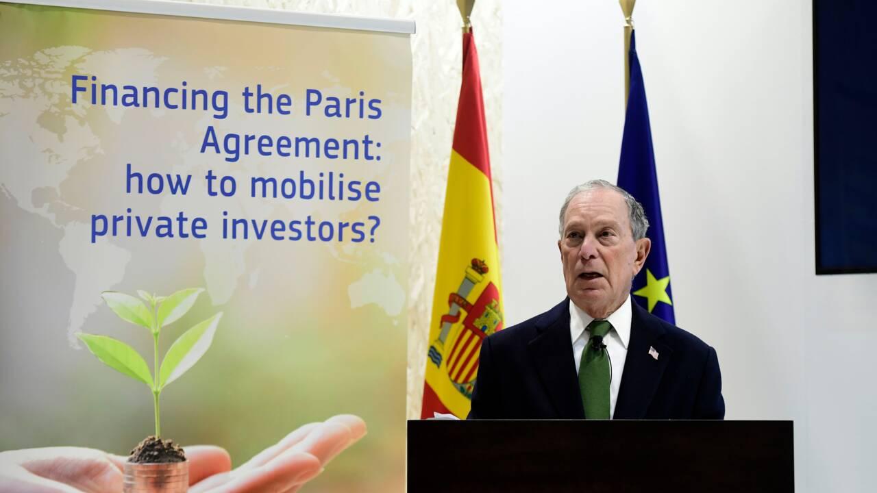 """L'action climatique nécessite du """"leadership"""", """"pas un miracle"""", estime Bloomberg"""