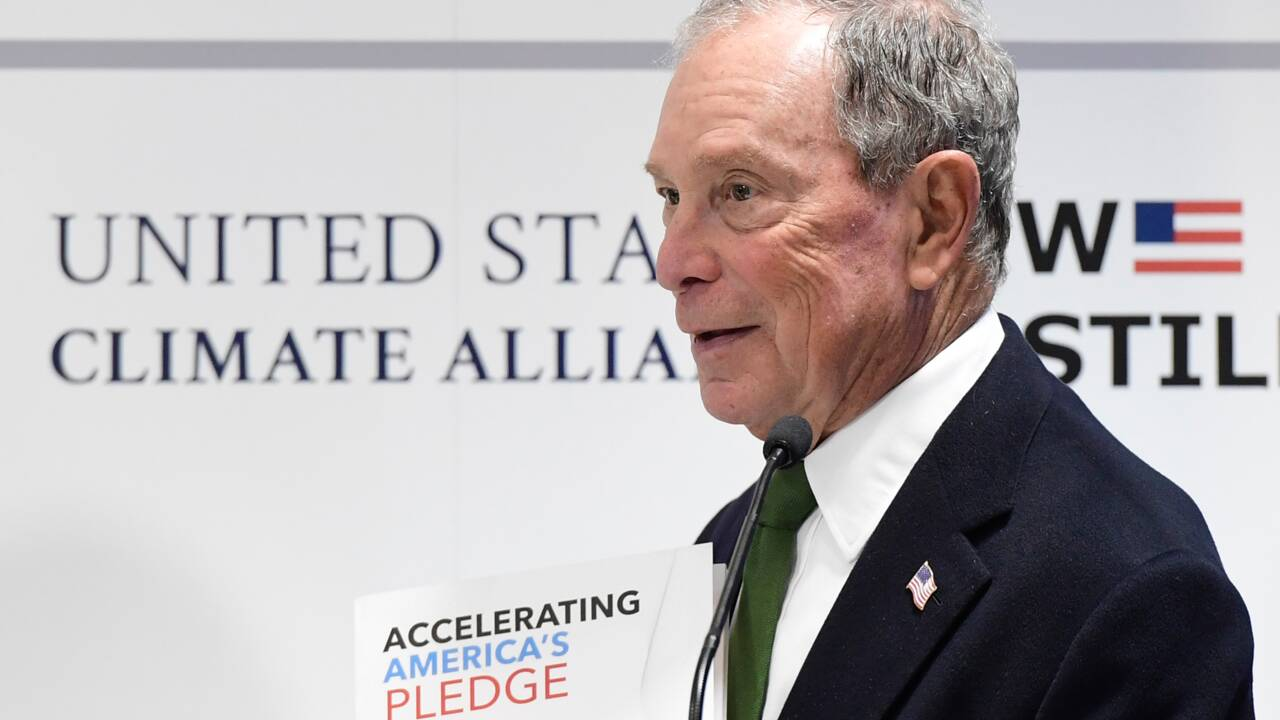 Climat: à la COP25, Bloomberg s'en prend à Trump et aux énergies fossiles