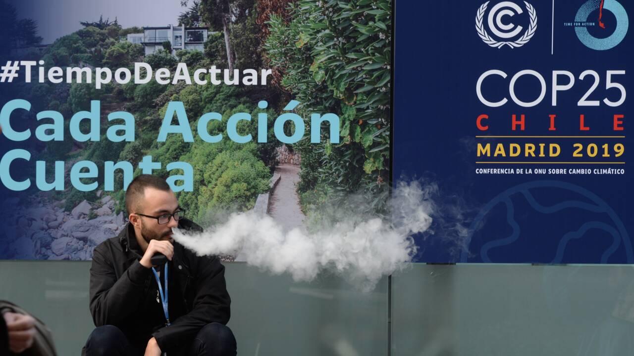 COP25: de jeunes militants expulsés après avoir réclamé plus d'actions pour le climat