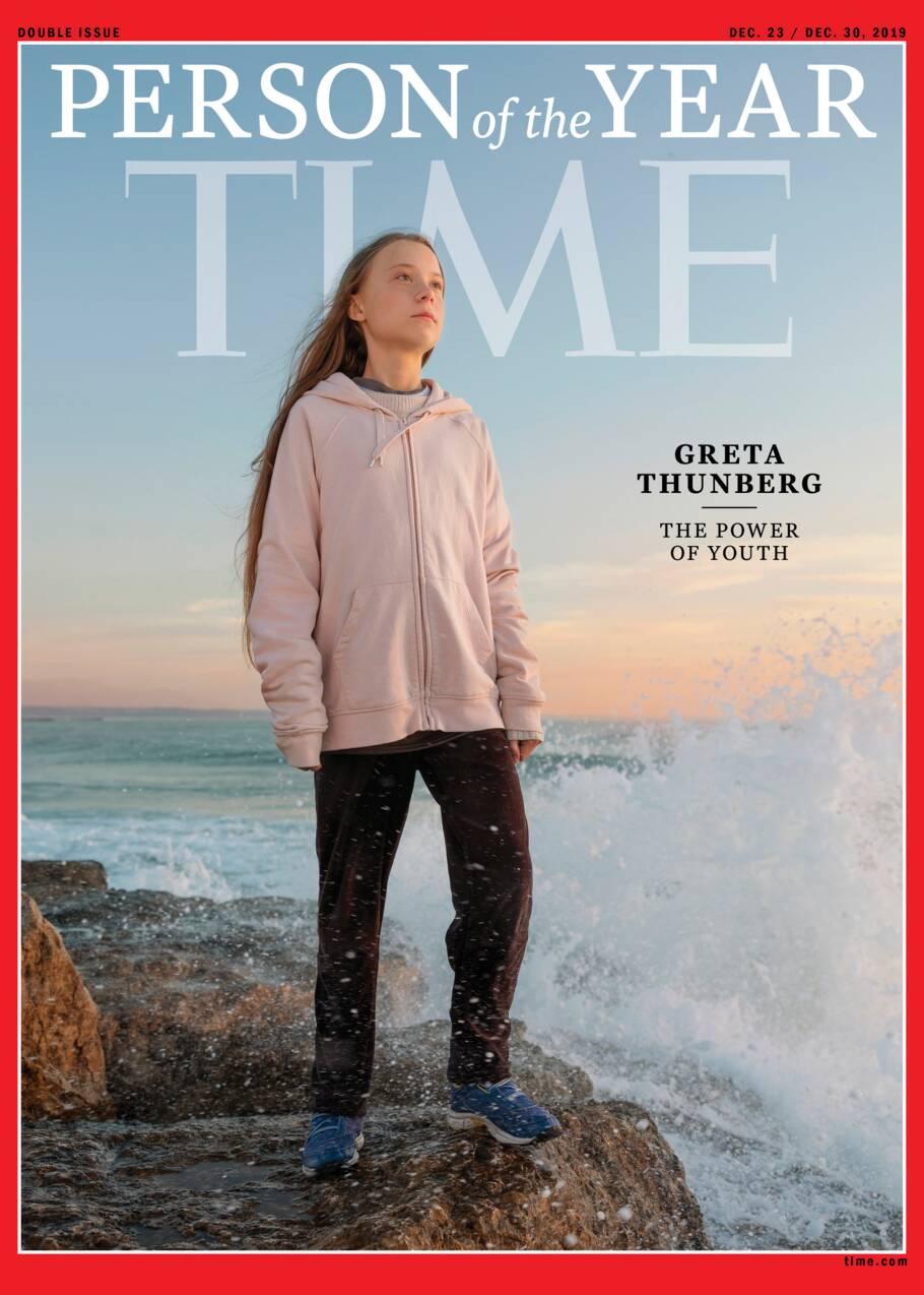 Greta Thunberg, la jeune militante du climat élue personnalité de l'année du magazine Time