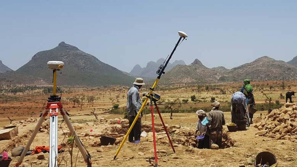 Les vestiges d'une cité antique oubliée depuis 1300 ans refont surface en Ethiopie