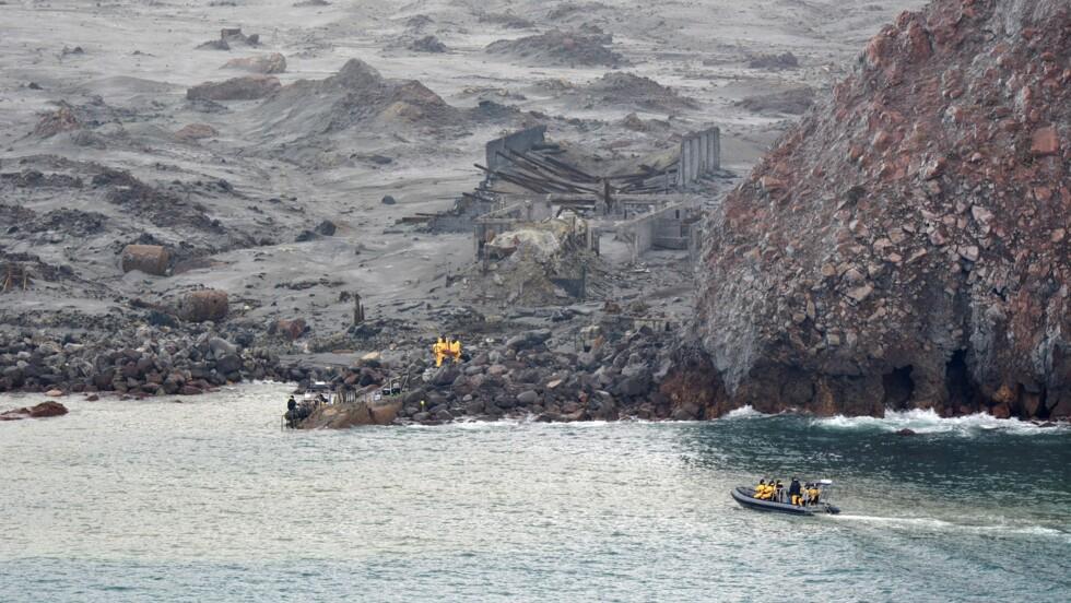 Eruption en Nouvelle-Zélande: fin de l'opération de récupération de six corps