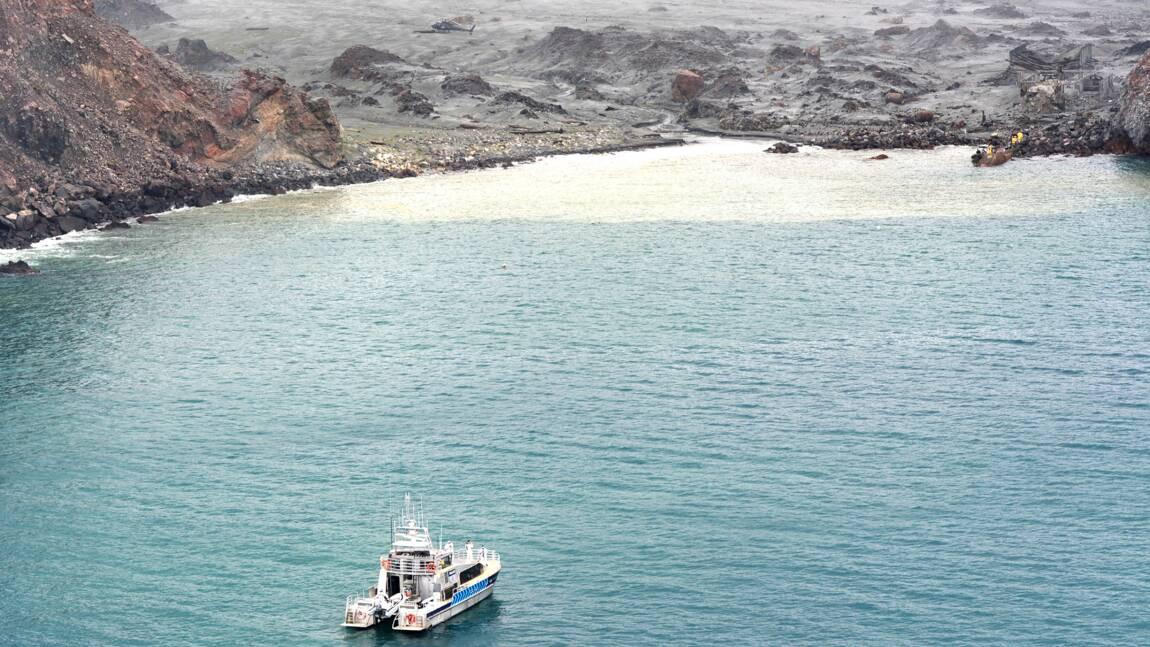 Eruption en Nouvelle-Zélande: des plongeurs à la recherche de corps