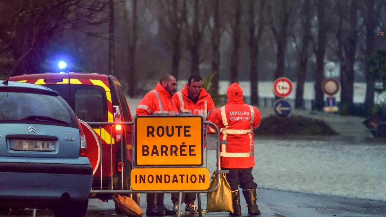 Intempéries: deux morts dans le sud-ouest où neuf départements sont placés en vigilance orange