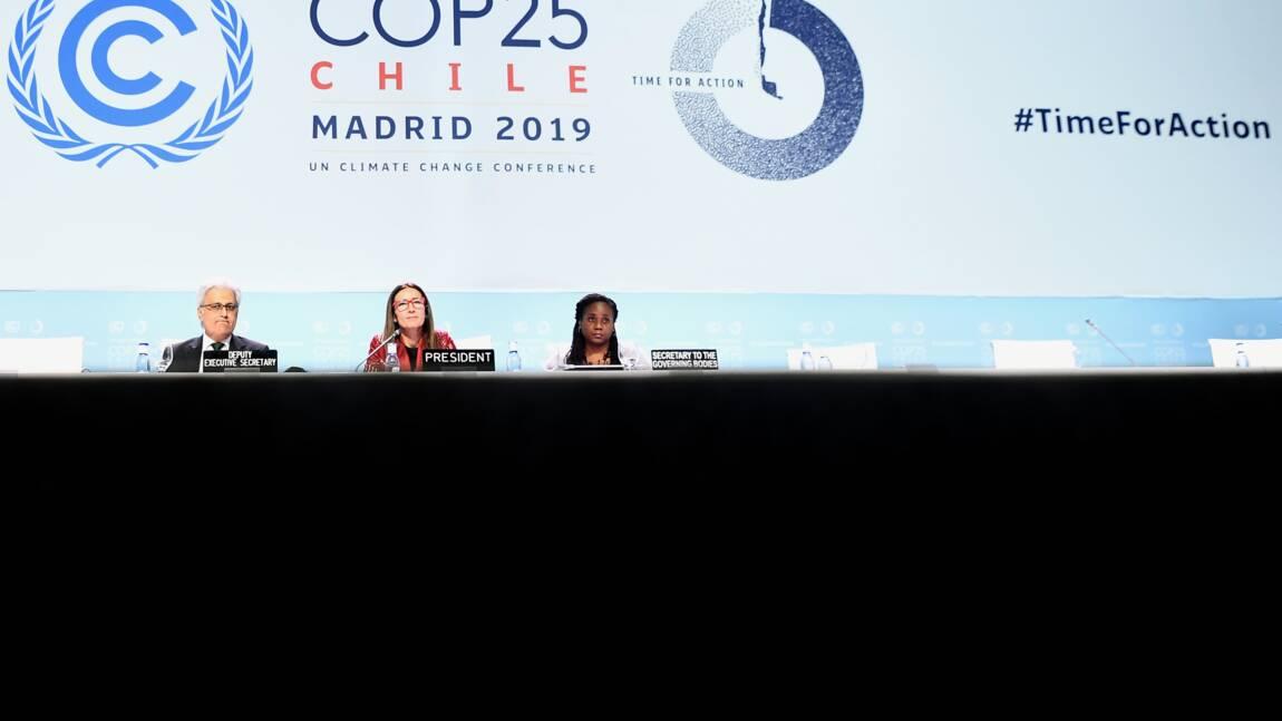"""La COP25, une occasion """"ratée"""" de répondre à l'urgence climatique"""