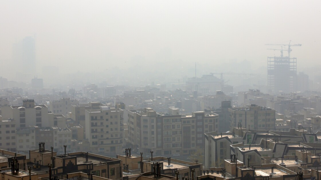 Pollution atmosphérique en Iran: écoles fermées dans plusieurs villes