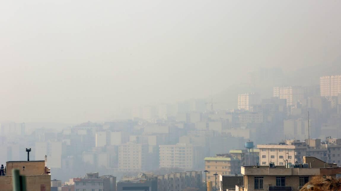 Pollution atmosphérique en Iran: les écoles fermées dans plusieurs villes