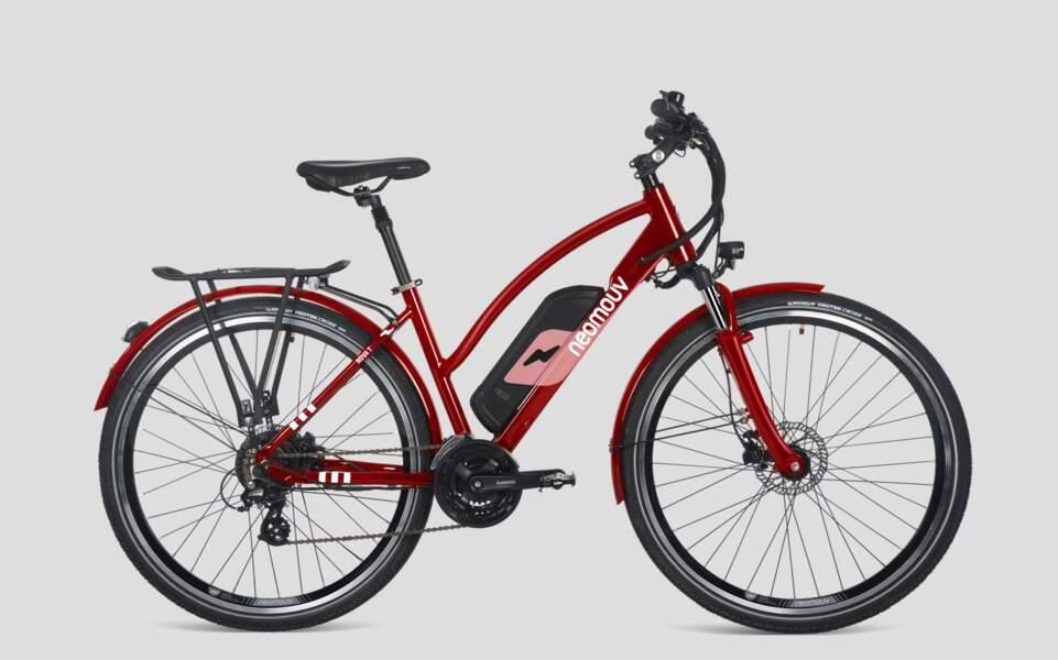 Vélo voyageur : le Neomouv VTC Nova T