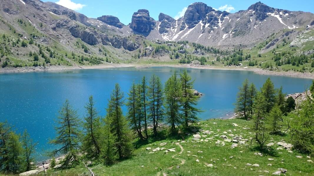 Lac d'Allos, Alpes-de-Haute-Provence