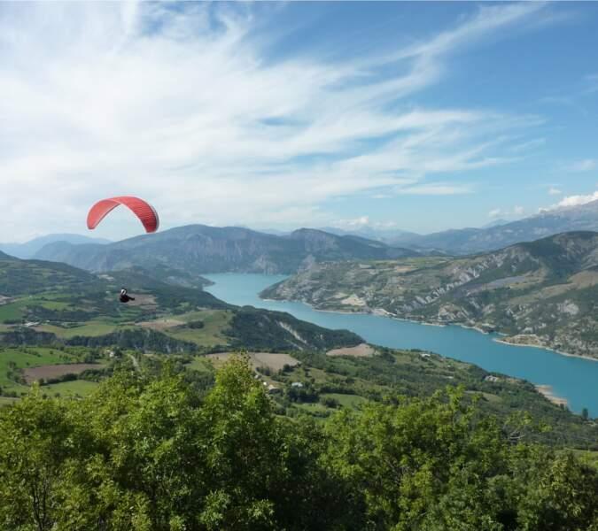 Lac de Serre-Ponçon, Hautes-Alpes