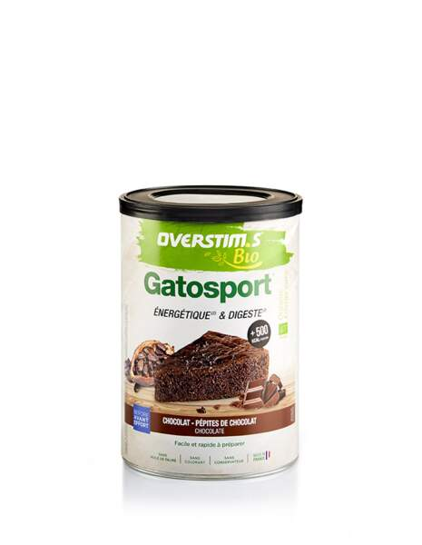 Gâteau énergétique : Overstim.s - Gatosport bio