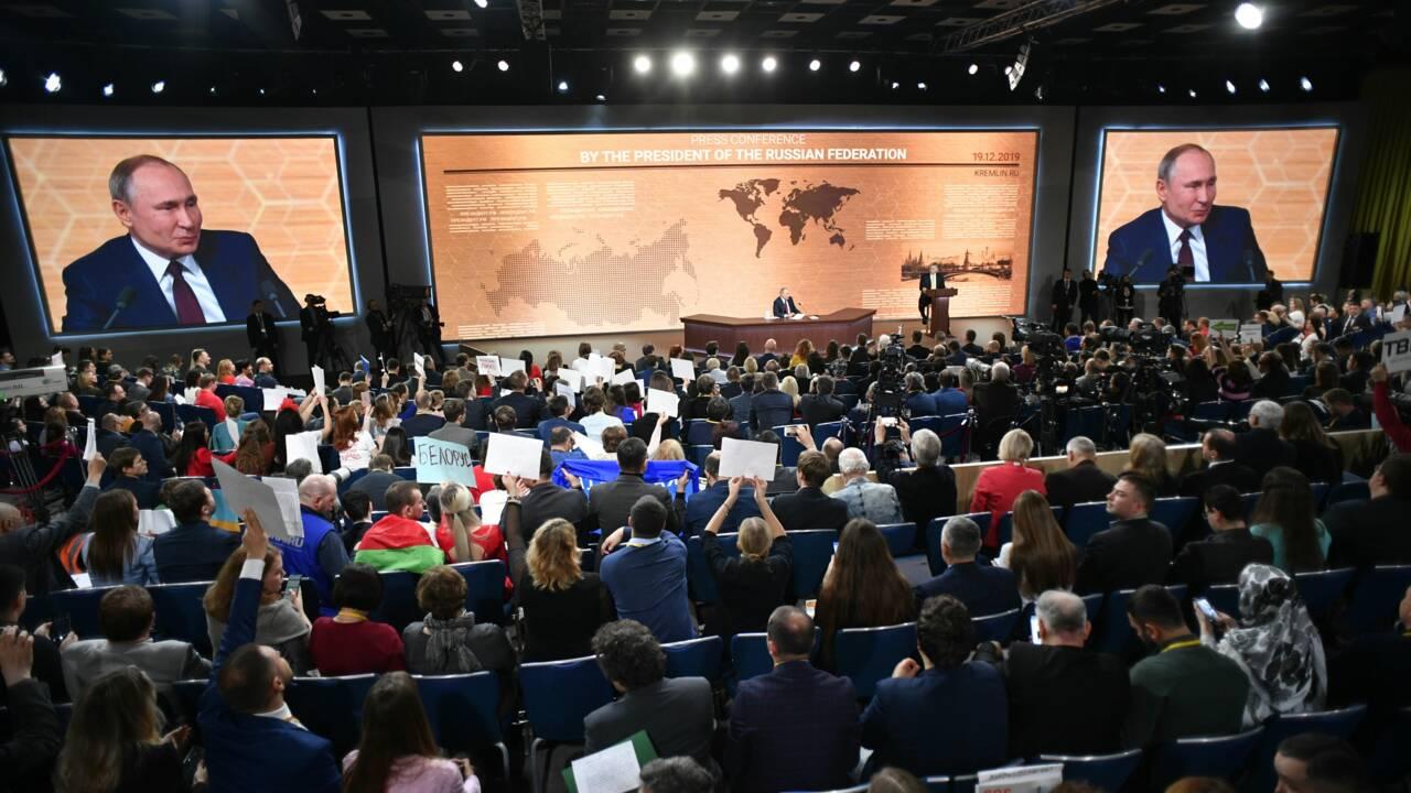 """Pour Poutine, """"Personne ne sait à quoi est dû"""" le changement climatique"""