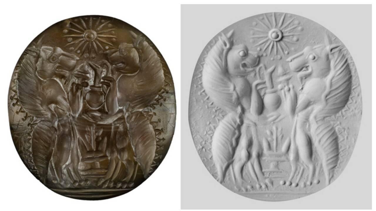Des archéologues découvrent deux tombes de 3500 ans décorées d'or en Grèce