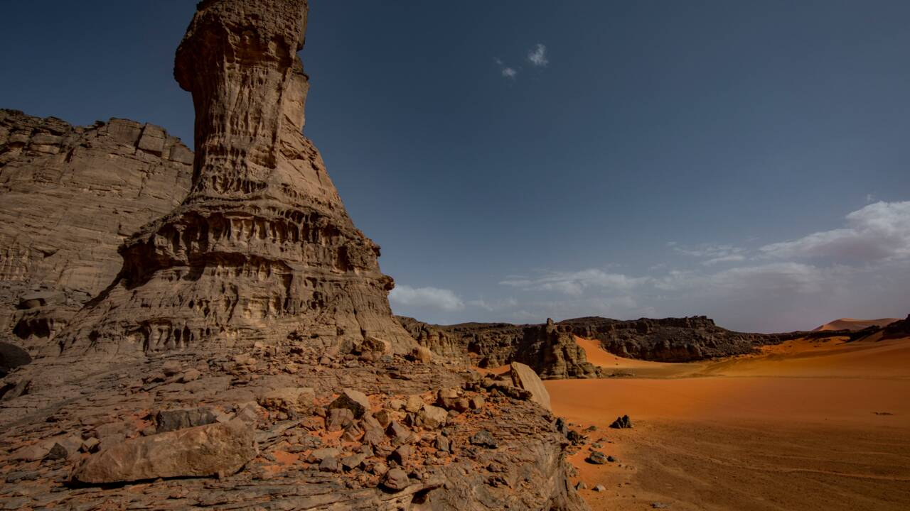 En Algérie, avec les nomades touareg du Tassili n'Ajjer