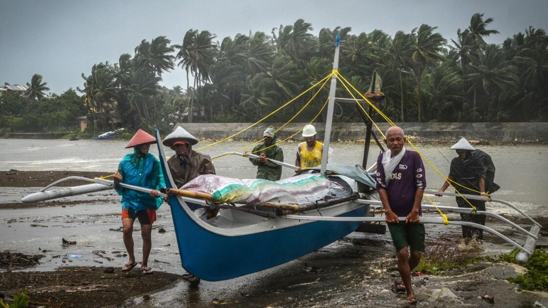 Le Noël des Philippins gâché par un typhon